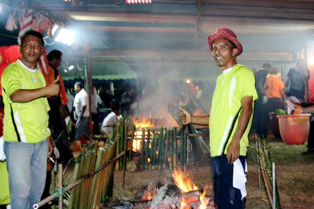 pesta lemang chini 2016 bakar 6500 lemang