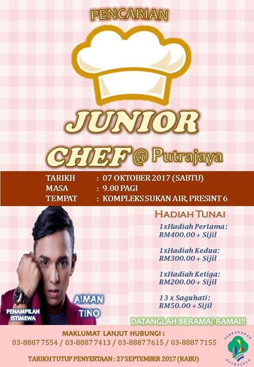7 okt - pencarian chef junior
