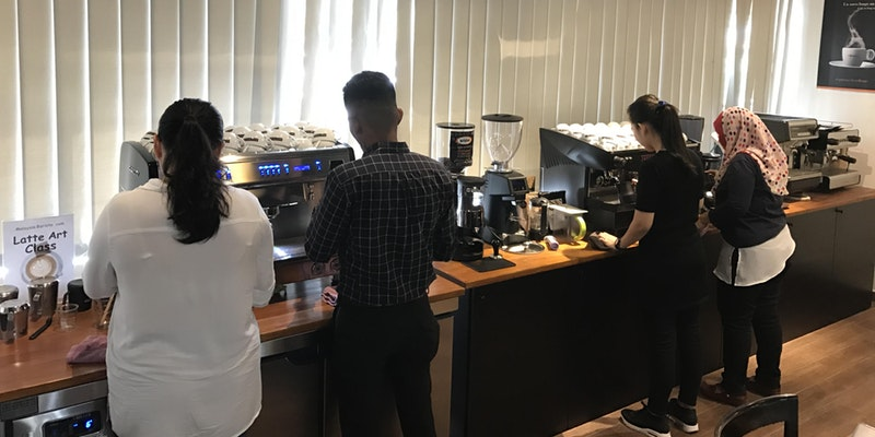 profesional barista training