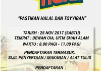 25 nov - logistik halal uitm 1