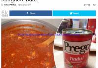 spaghetti babi Halal JAKIM